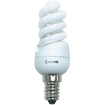Energy-saving bulb 95 mm LightMe 230 V 9 W EEC: A Spiral shape Content 1 pc(s)