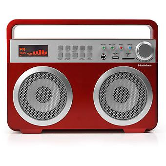 Audiosonic Radio Retro Mp3 Bluetooth Audiosonic Rd1558