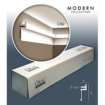 ORAC decor C382 MODERN 1 box SET with 12 strips of corner mouldings | 24 m