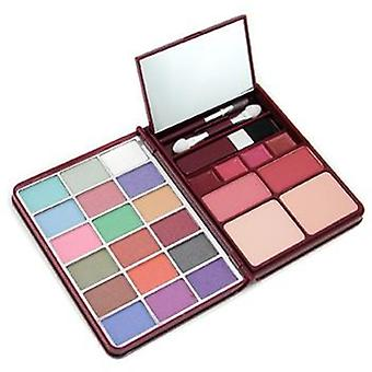 MakeUp Kit G0139 (18x Eyeshadow 2x Blusher 2x Pressed Powder 4x Lipgloss) - 2 - -