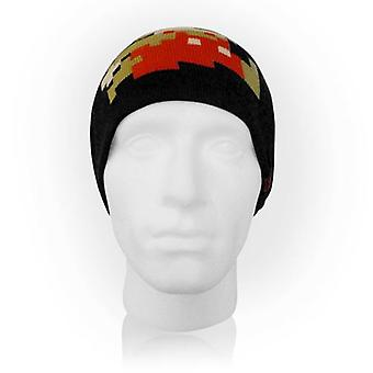 NINTENDO Super Mario Bros. Pixelated Running Mario Beanie Black (KC061906NTN)