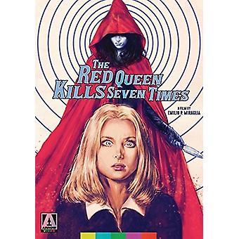 Red Queen dræber syv gange [DVD] USA importerer