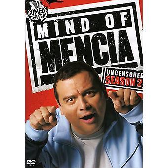 Mind af Mencia: ucensureret: sæson 2 [DVD] USA import