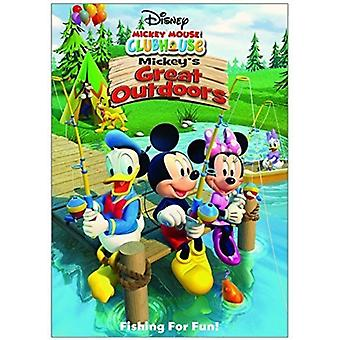 Mickey Mouse Clubhouse: Mickey's Great Outdoors [DVD] USA import