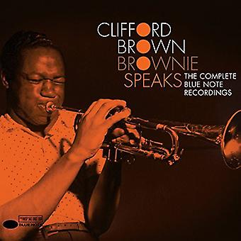 Clifford Brown - Brownie talar / Blue Note album [CD] USA import