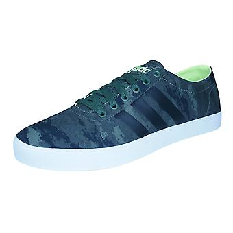 adidas Neo Easy Vulc VS Mens Trainers / Shoes - Green and Black