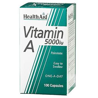 Health Aid Vit A Vit D 400IU 5000Ui With 100CAP. Health Aid