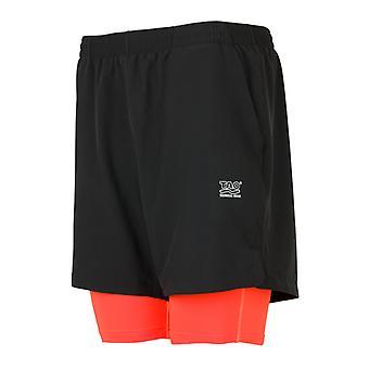 Tao mænd kører shorts urban stil Runner sort - 81028-71016