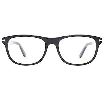 Tom Ford FT5430 Glasses In Shiny Black