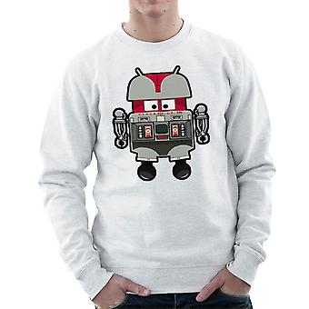 V.I.N.CENT L.F 396 Droid The Black Hole Android Men's Sweatshirt