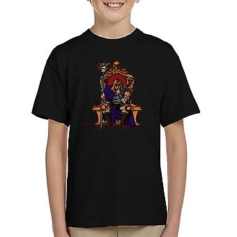 King Of Eternia He Man Masters Of The Universe Kid's T-Shirt