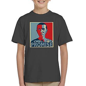 Coisas estranhas onze True camiseta amigos Dont Lie infantil