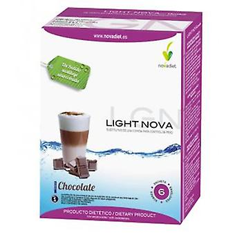Novadiet Batido Light Nova Chocolate 35 gr 6 Envelopes (Dieta , Frullati)