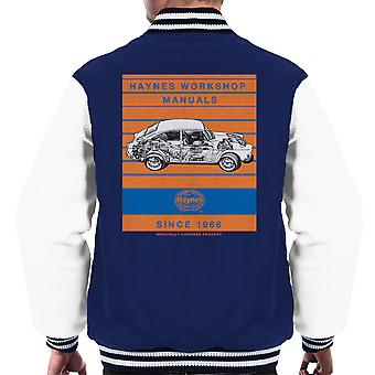 Haynes Workshop Manual 0084 VW 1600 Fastback Stripe mannen Varsity Jacket