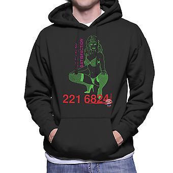Ring Sindy för tillfredsställelse sexig tjej Mäns Hooded Sweatshirt