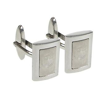 Everton Stainless Steel Framed Cufflinks