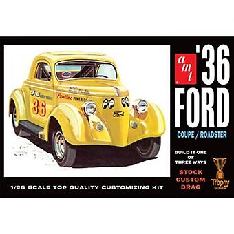 AMT Model Kit - 1936 Ford Coupe Roadster Car - 1:25 scale - AMT824 - New
