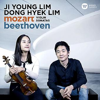 Lim * Ji Young / Lim * Dong-Hyek - Mozart & Beethovens sonater [CD] USA import