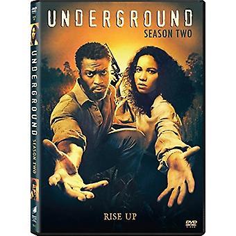 Underjordiska säsong två [DVD] USA import