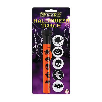 Halloween Torch with 5 Image Cover Lenses