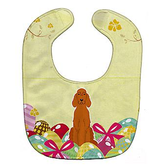 Carolines Treasures  BB6064BIB Easter Eggs Irish Setter Baby Bib