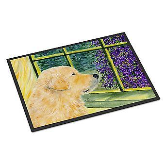 Carolines Treasures  SS8680MAT Golden Retriever Indoor Outdoor Mat 18x27 Doormat