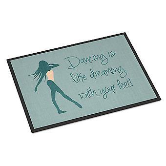 Dancing is Like Dreaming #2 Indoor or Outdoor Mat 24x36