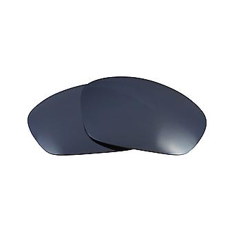 Replacement Lenses Compatible with OAKLEY Straight Jacket Black Iridium