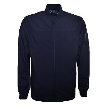 Ted Baker Ted Baker Men's Navy Blue Ohta Bomber Jacket
