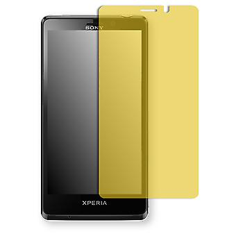 Sony Xperia LT30p screen protector - Golebo view protective film protective film