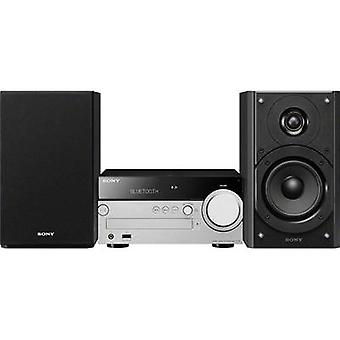 Audiosystemet Sony CMT-SX7B AirPlay, AUX, Bluetooth, CD, DLNA, DAB, USB, FM, S