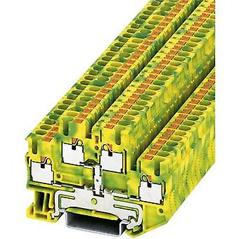 Phoenix Contact 3210596 PTTB 2,5-PE Push-in Double-level Protective Conductor Terminal PITTB-PE Green-yellow