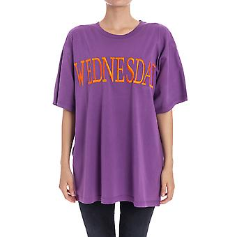 Alberta Ferretti women's J07055183273 purple cotton T-Shirt