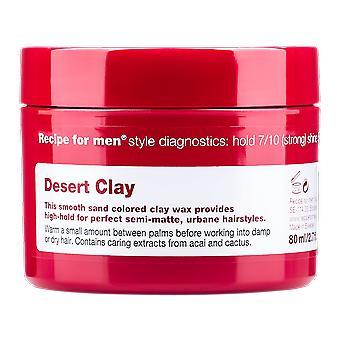 Recipe For Men Desert Clay 80ml