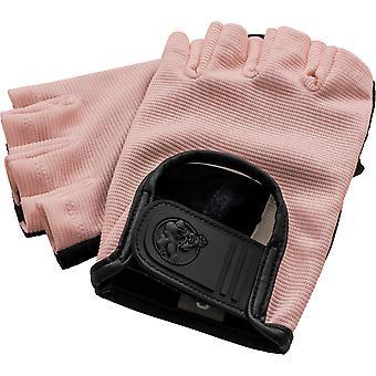 Fitness Handschuhe Leder Rosa XL