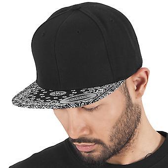 Flexfit BANDANA Snapback Cap - schwarz