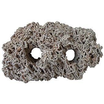 Agrobiothers Spaghetti Stone 2 Holes (Fish , Decoration , Rocks & Caves)