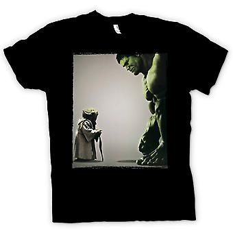 Camiseta para hombre - V Yoda Incredible Hulk - Super héroe