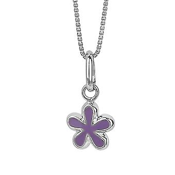 Orphelia Silver 925 Kids Pendant Purple Flower  ZH-6062/1