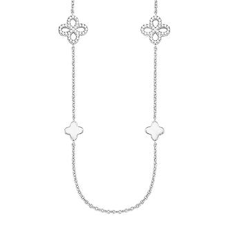 s.Oliver jewel ladies chain necklace Silver Flower Zikonia 2015170