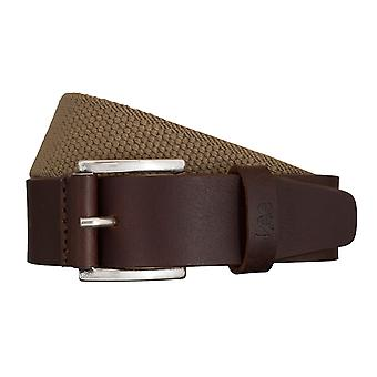 Cinturones tejidos cinturón marrón/beige Lee cinturones hombre 5423