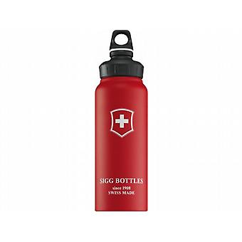 Sigg Wide Mouth Swiss Cross Touch (Red 1.0L)