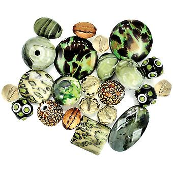 Inspirations Beads 50g-Spinach