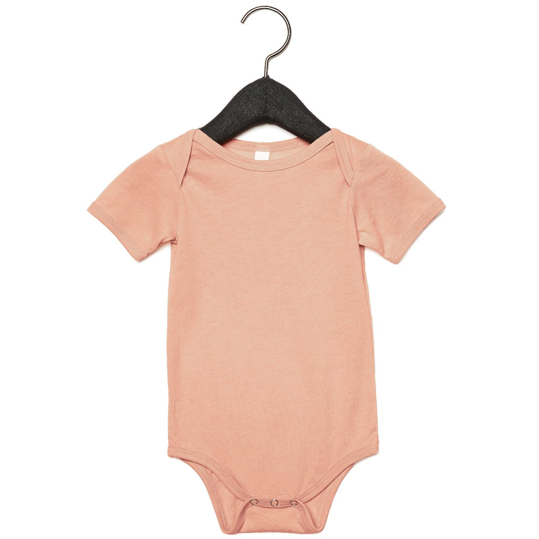Bella + Leinwand Unisex Baby Triblend Short Sleeve Onesie