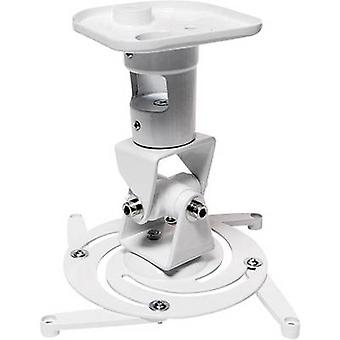 LogiLink BP0003 Projector ceiling mount Tiltable, Rotatable Max. distance to floor/ceiling: 22 cm White