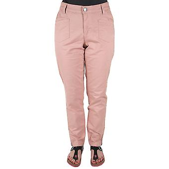 abdulgaffar comfortable stretch jeans for ladies plus size of pink