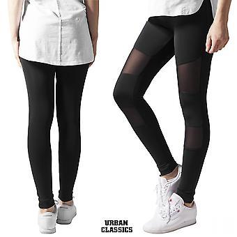 Urban classics ladies leggings tech mesh