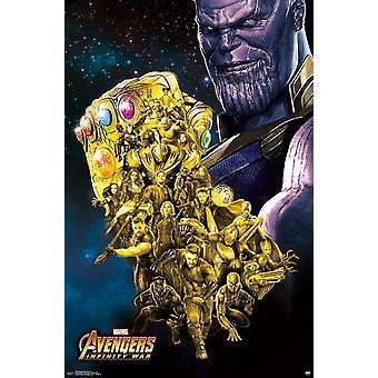 Avengers Infinity War - Fist Poster Print