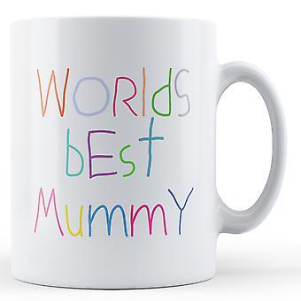 Verdens beste mamma - trykte krus