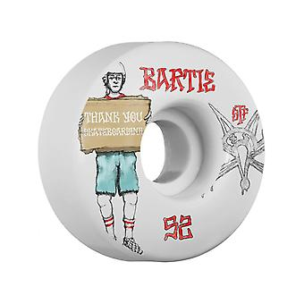 Bones White Street Bartie Thank You V1 - 52mm Skateboard Wheels
